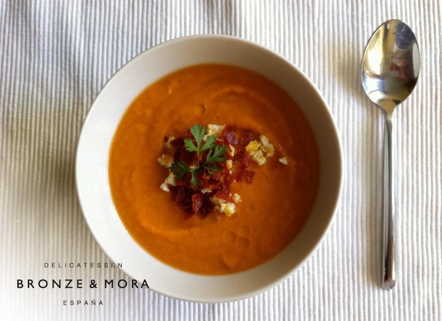 receta-salmorejo-con-AOVE-Bronze-&-Mora---la-mejor-selección-de-aceites-de-oliva-virgen-extra-de-España-con-DOP---the-best-oliveoil-selection-from-Spain
