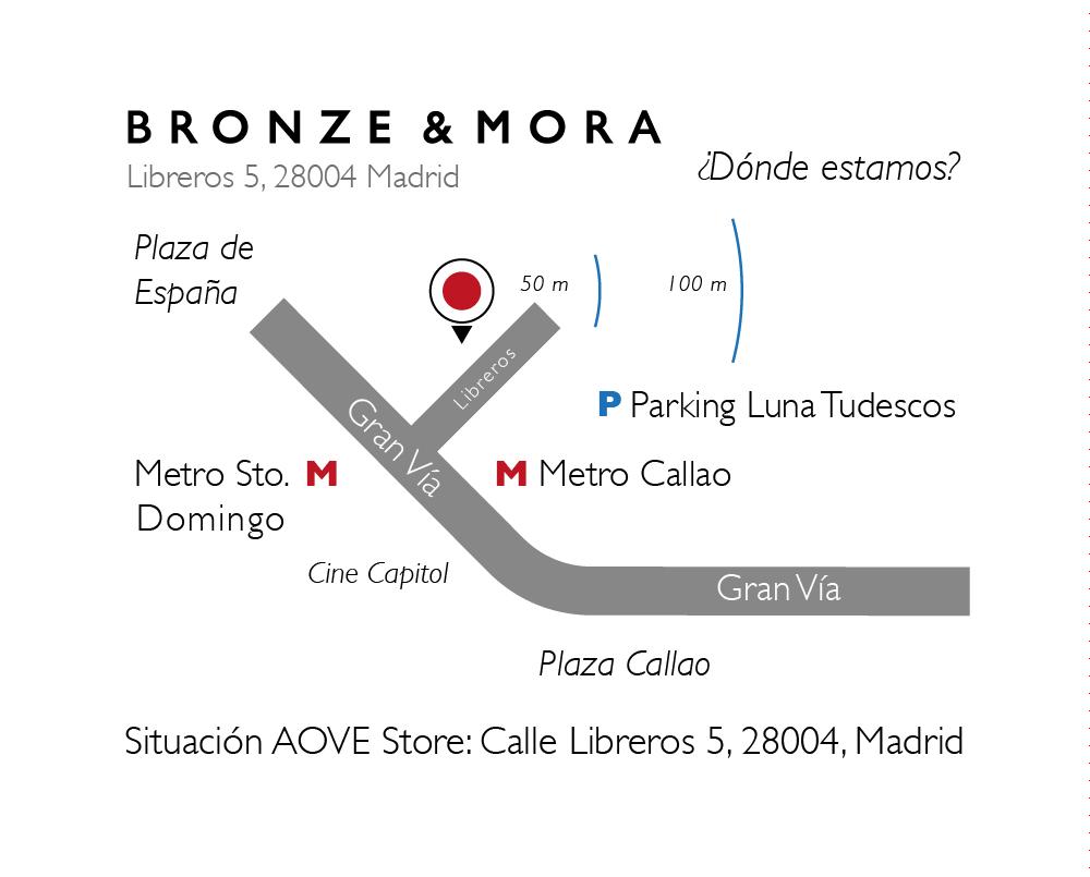 Mapa-tienda-Bronze-&-Mora-aceite-para-regalar-aove-storemadrid