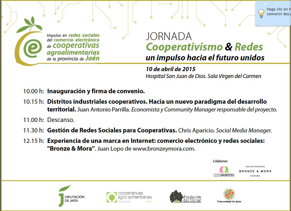 Bronze-&-Mora-invitado-especial-como-Caso-de-exito--programa-jornada cooperativismo y redes