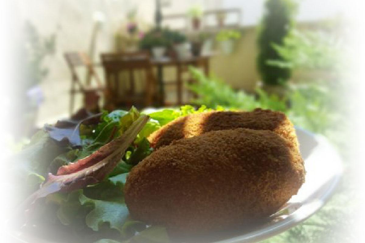 Receta de croquetones Bronze y Mora el mejor aceite de oliva virgen extra para regalar: un regalo gourmet ideal