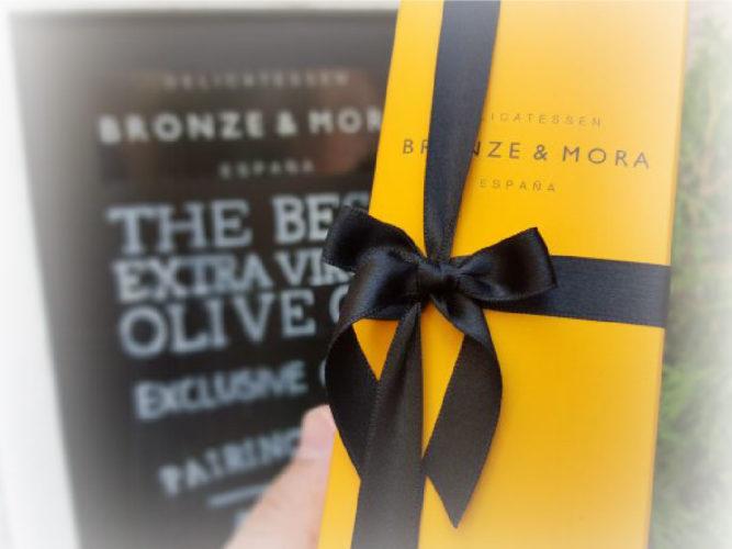 Variedades aceite de oliva virgen extra bronze y mora: un regalo gourmet ideal