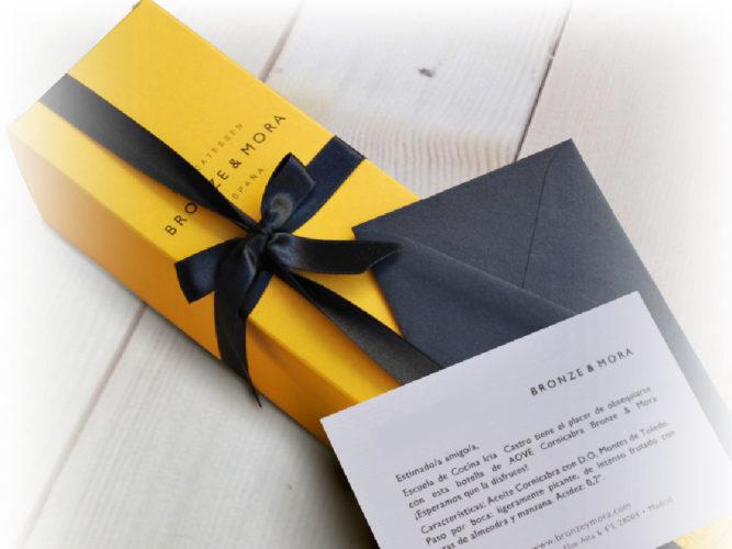 Bronze y Mora aceite para regalar regalo gourmet sorteo