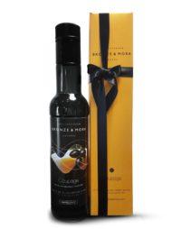 Botella coupage Bronze y Mora aceite de oliva virgen extra ideal como regalo gourmet, regalo personalizable, cesta de Navidad y regalo de empresa aceite para regalar oleoteca madrid