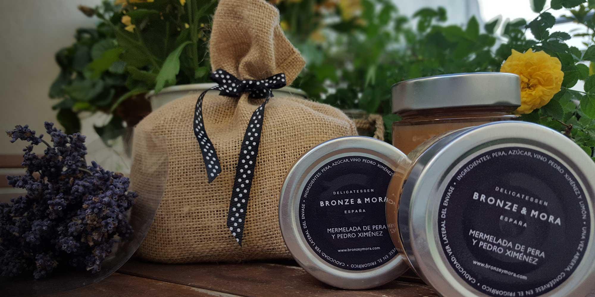 Mermelada y queso Bronze & Mora regalo gourmet aceite para regalar oleoteca Madrid