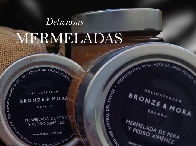 Mermeladas Bronze & Mora aceite para regalar regalo gourmet oleoteca Madrid