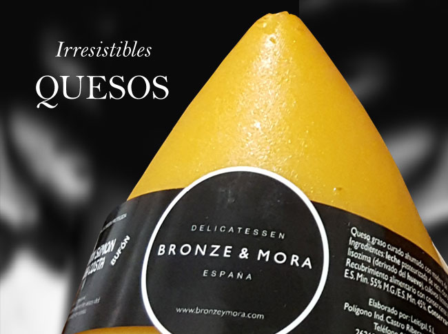 Quesos Bronze & Mora aceite para regalar regalo gourmet oleoteca Madrid