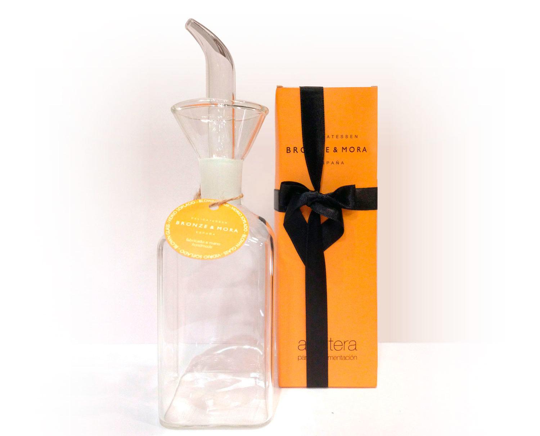Aceitera bouquet garni condimentacion aceite de oliva virgen extra para regalar regalo empresa cesta navidad