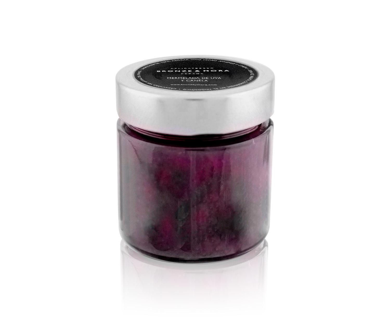 Mermelada para regalar de uva y canela
